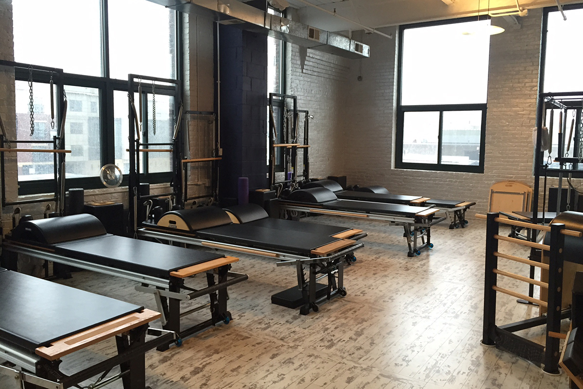 Pilates studio photo by melissa malamut