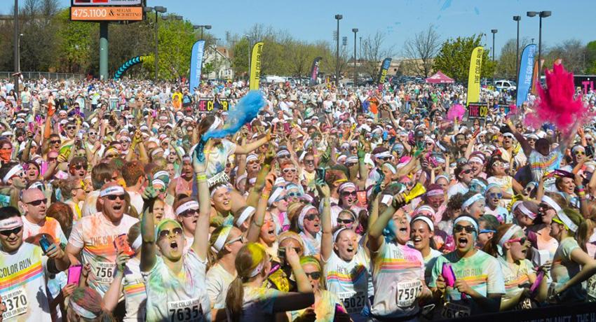 Color Run photo via Facebook