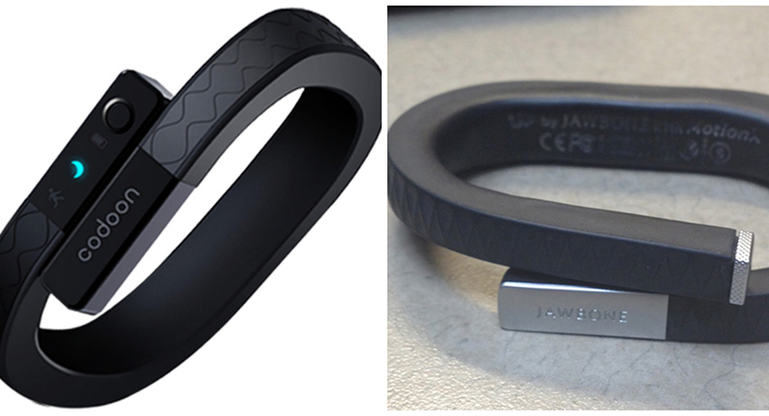 Codoon on Facebook. Jawbone UP on my desk. Both use the crescent for sleep mode.