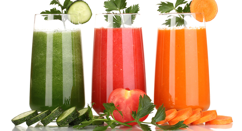 Juices photo via Shutterstock