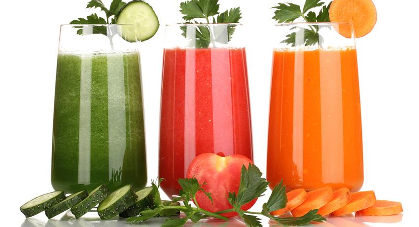 Juices photo via Shutterstock