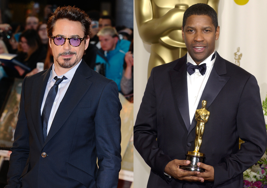 robert downey jr denzel washington