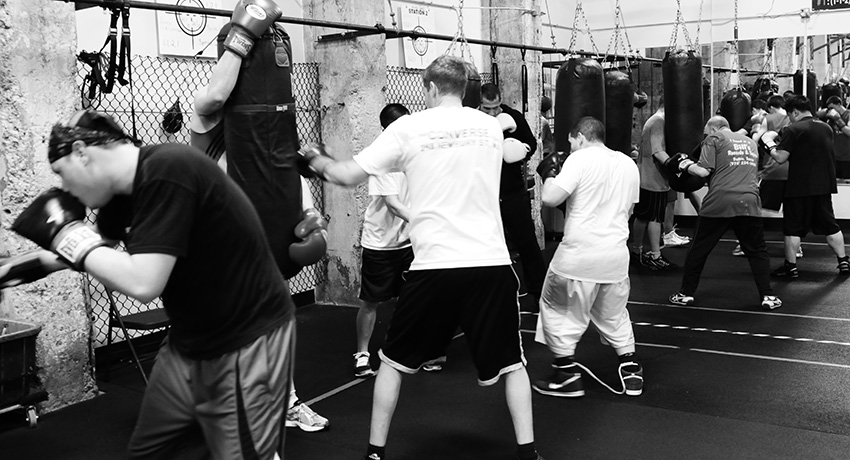 A class at Peter Welch's Gym. (Photo provided.)