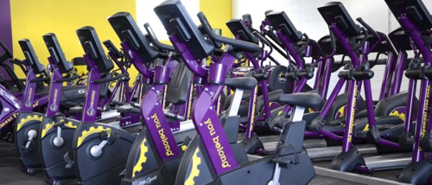 Planet Fitness interior photo via Facebook.