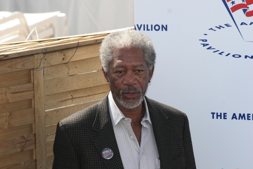 Morgan Freeman photo via cinemafestival / Shutterstock.com