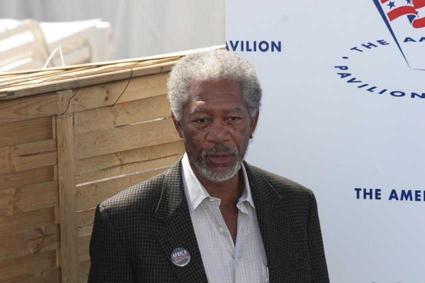 Morgan Freeman photo via cinemafestival / Shutterstock.com
