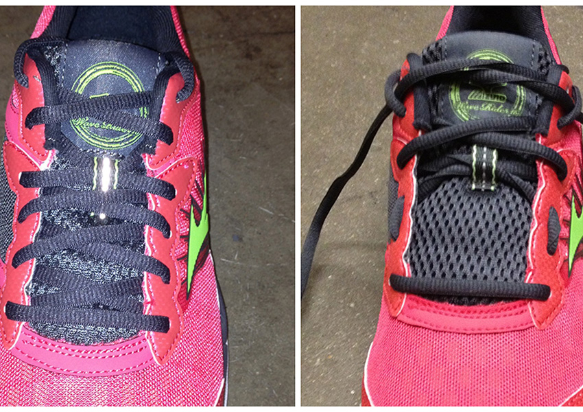 How you lace your sneakers matters. (All photos provided by City Sports.)
