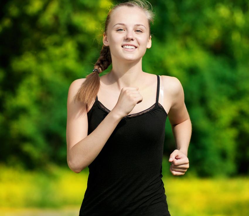 Teenagers' fitness