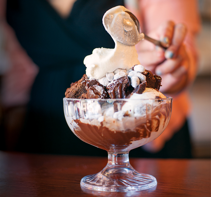 best ice cream sundaes boston