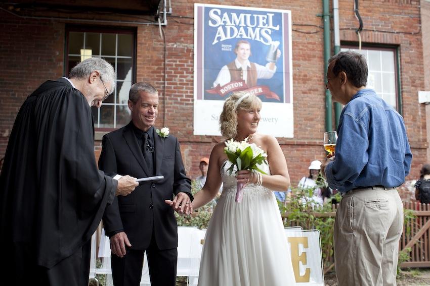 when did samuel adams get married