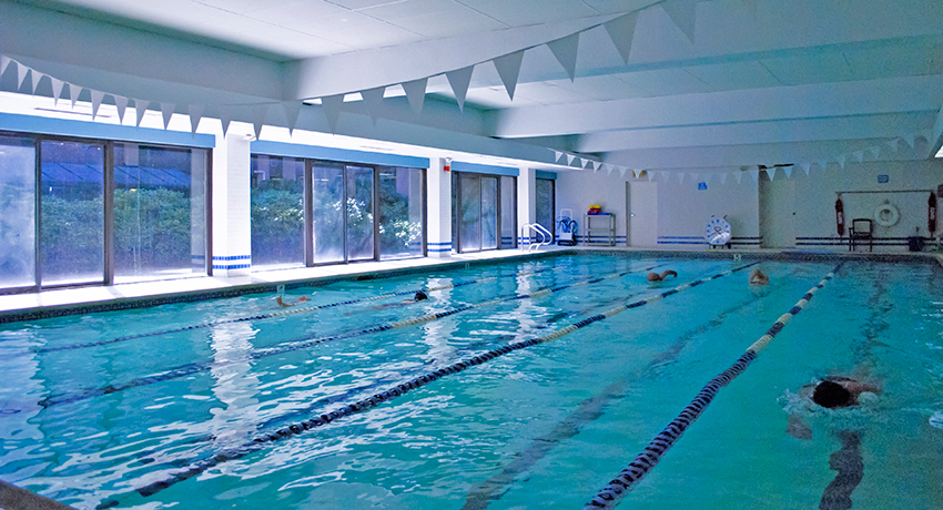 Salt water pool at Commonwealth Sports Clubs. Photo provided.