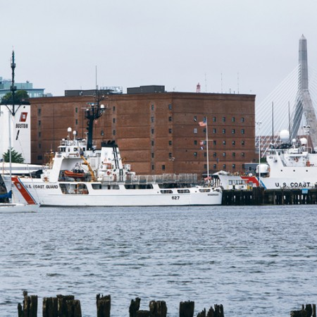 US Coast Guard Base Boston