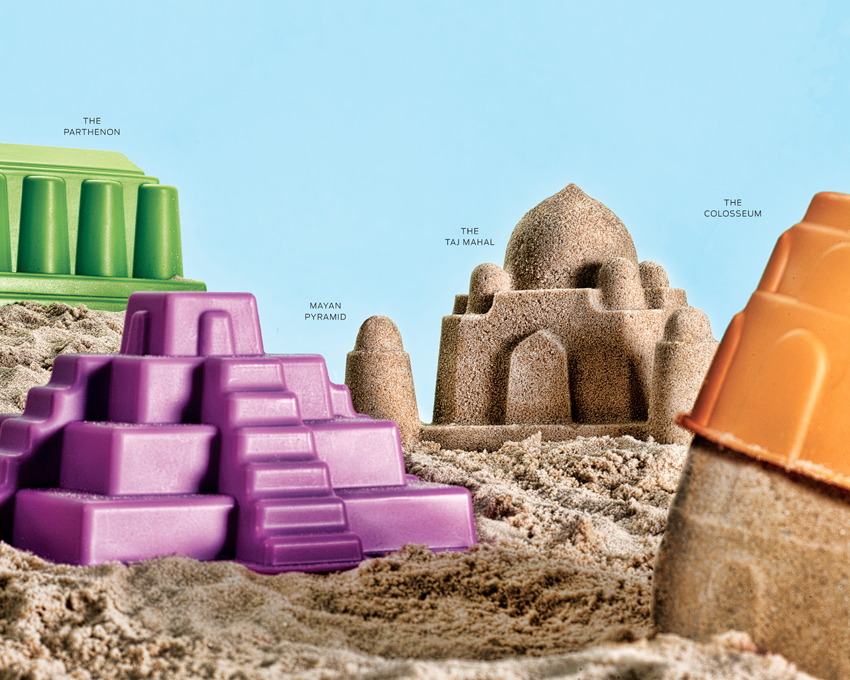 hape-monument-sandcastle-molds