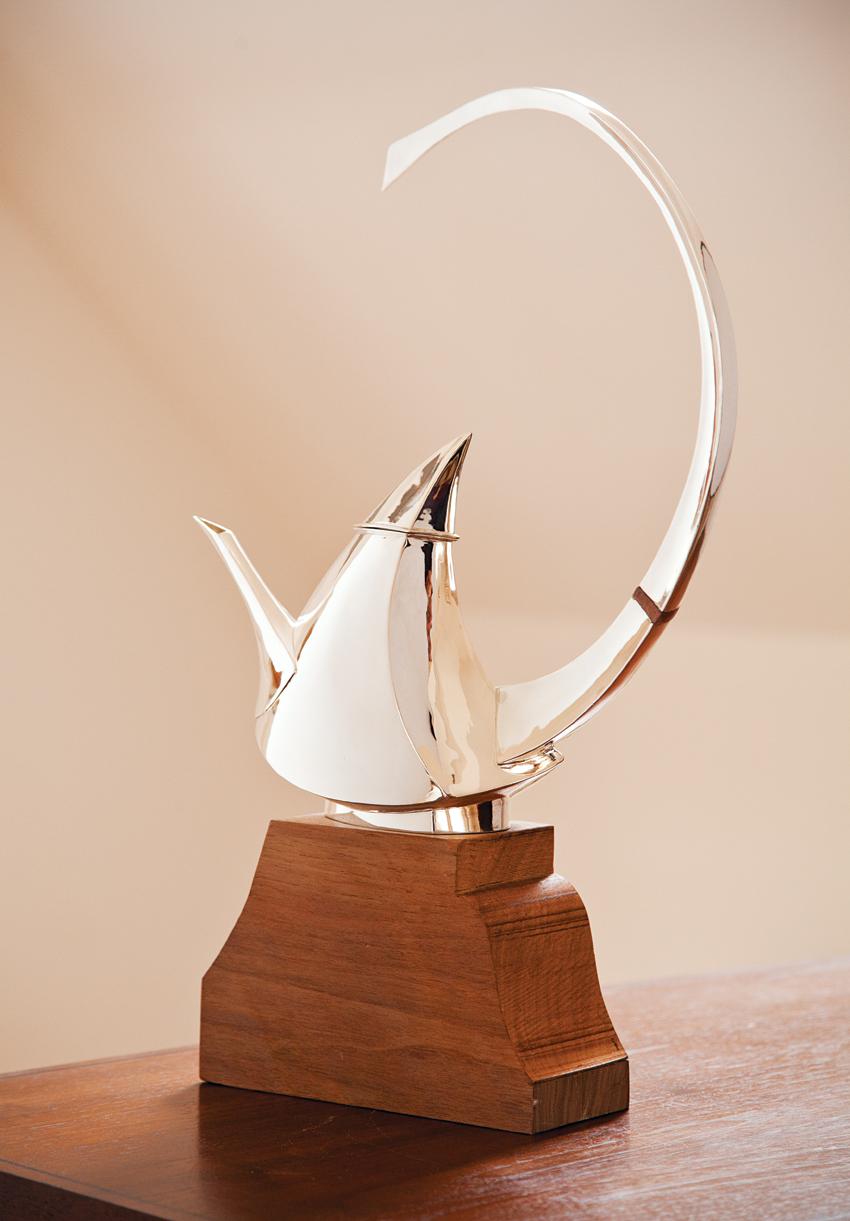 michael maureen banner silver teapots 1