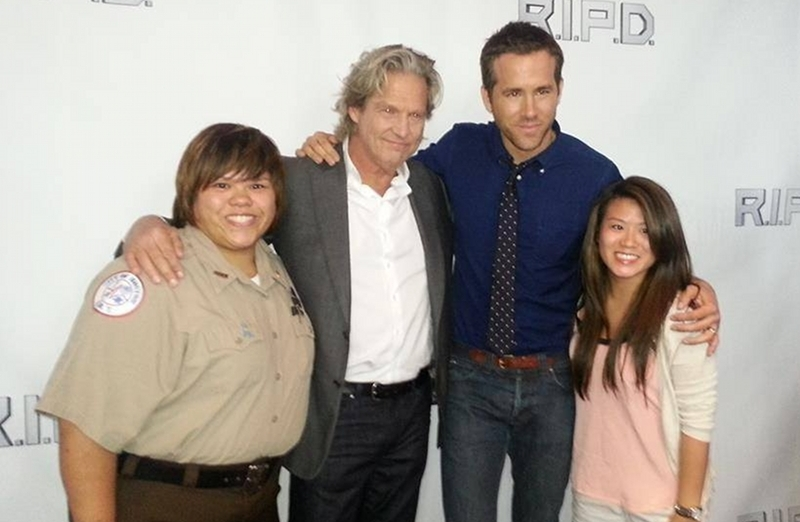Jeff Bridges Ryan Reynolds Boston