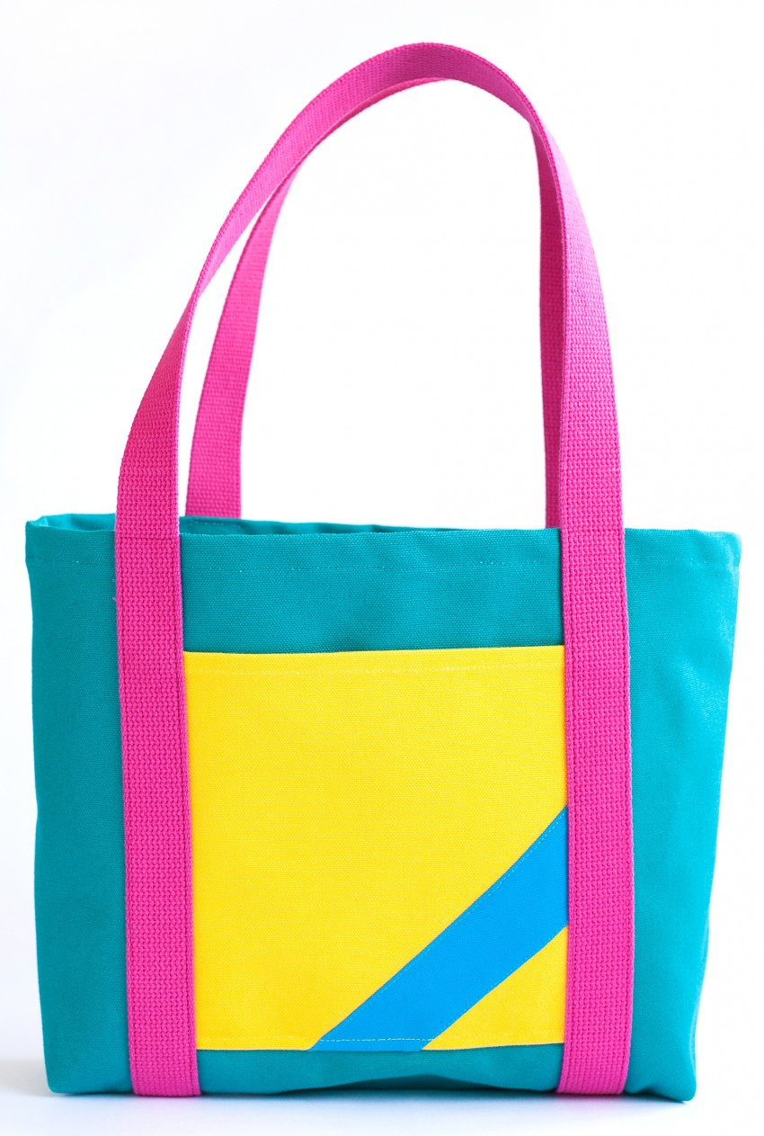 """Even Teal"" bag, $50-$60"