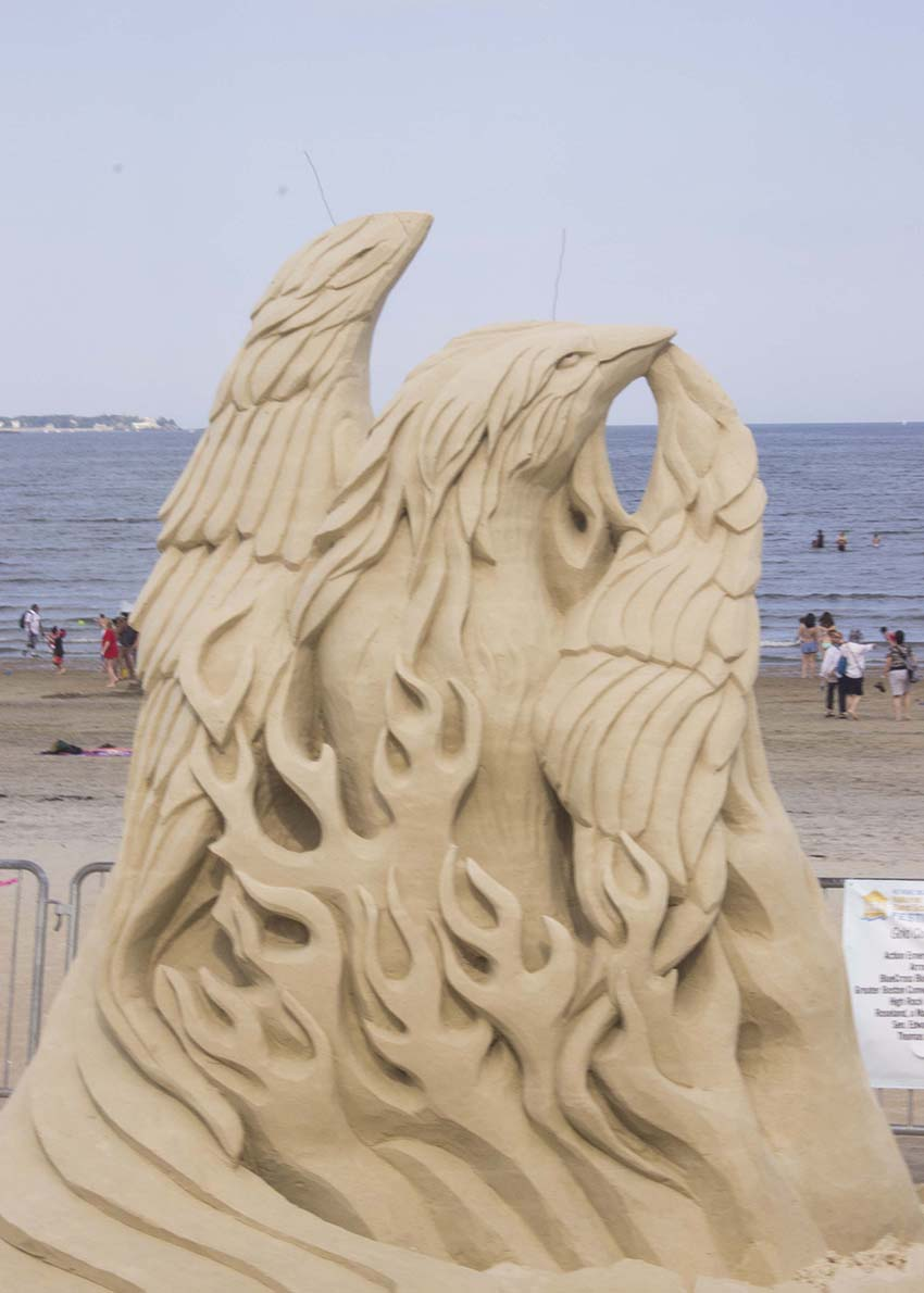 revere beach national sand sculpting festival 2013