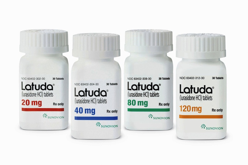 Latuda image provided.