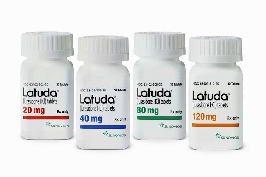 Latuda image provided.