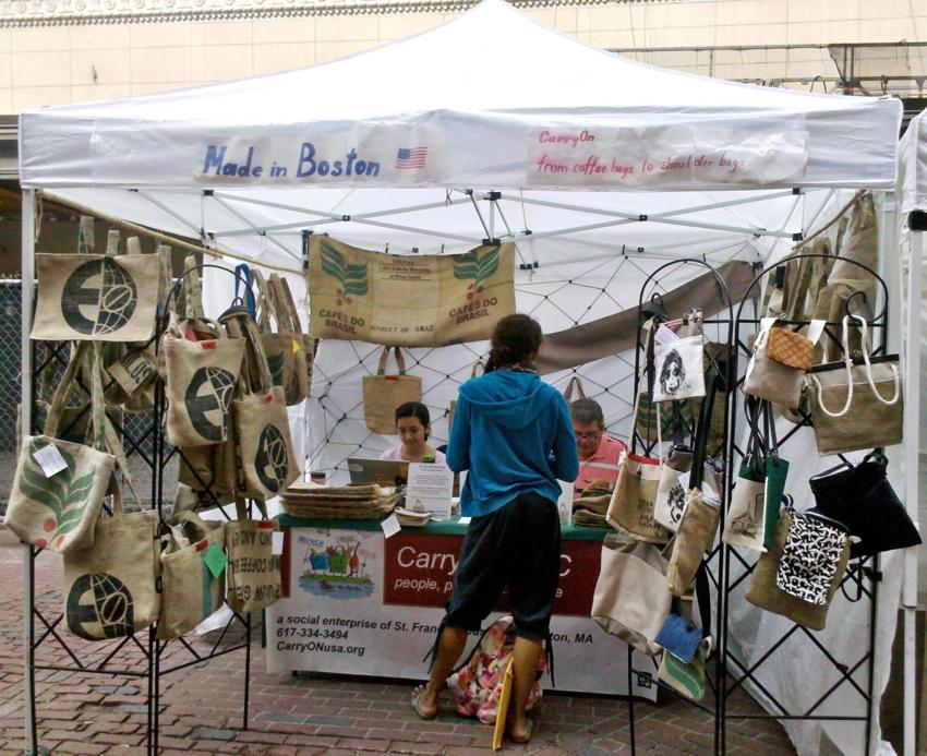 Selling at market