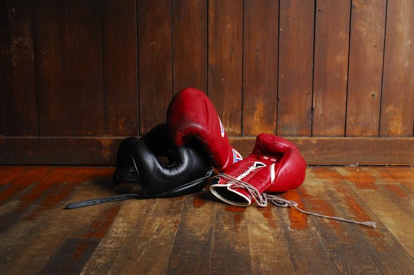 Boxing image via Shutterstock.