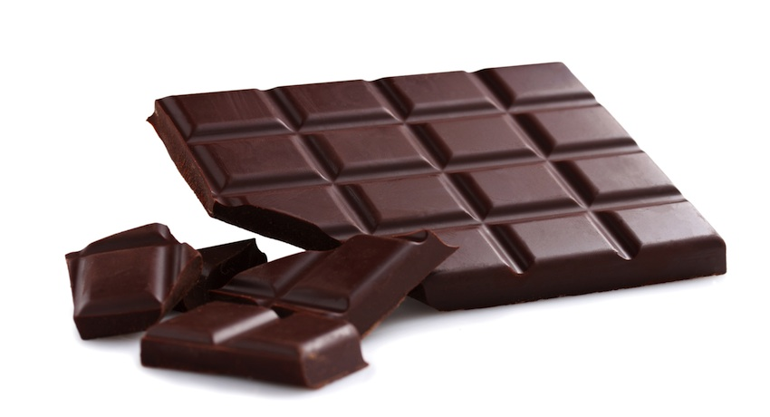Chocolate image via Shutterstock.