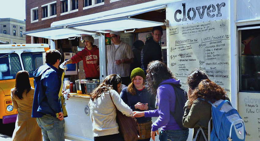 A Clover food truck. Photo via Flickr/T55Z
