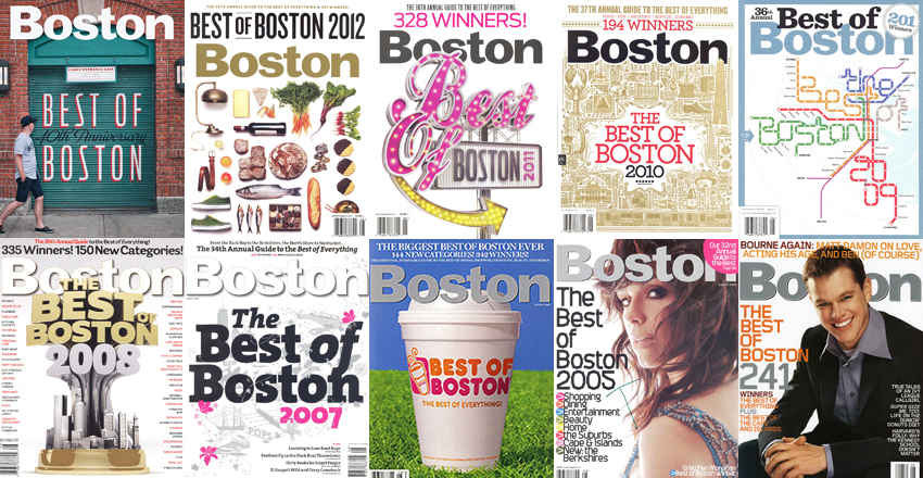 best of boston covers