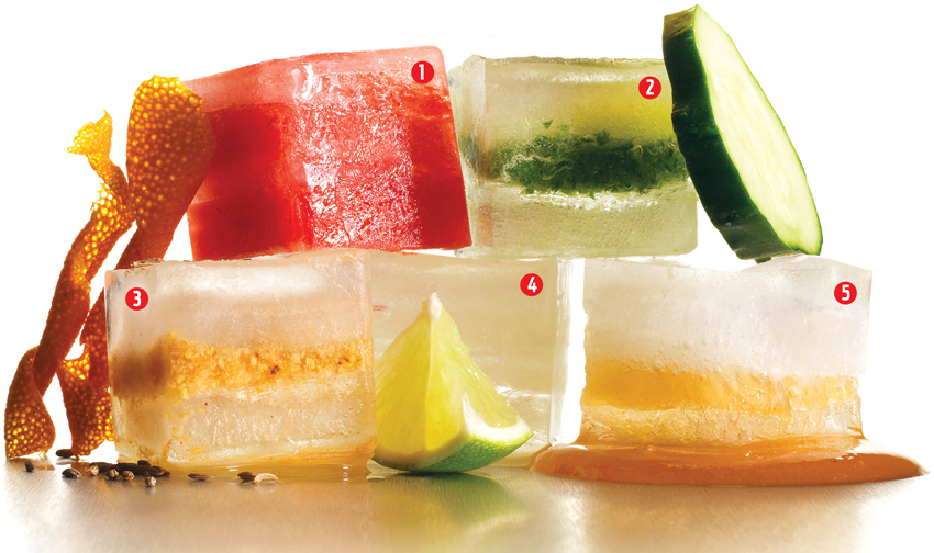 flavored-ice-cubes-cocktails
