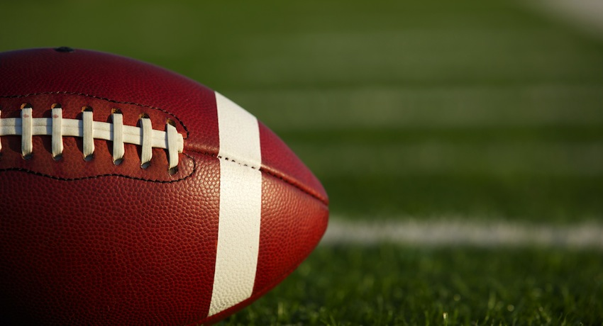 Football Image via Shutterstock.