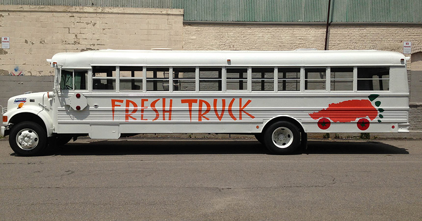 The Fresh Truck bus. Photo provided.