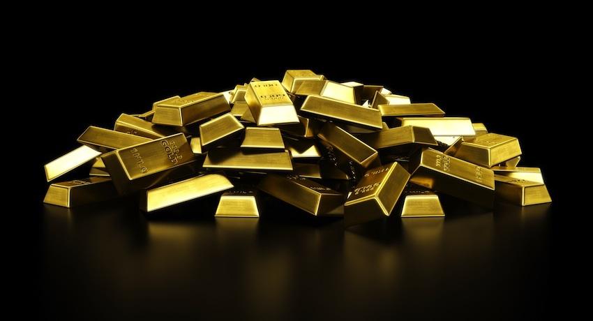 Gold image via Shutterstock.