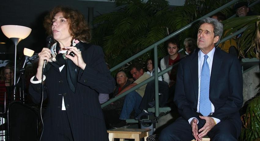 Teresa Heinz Kerry speaking photo via