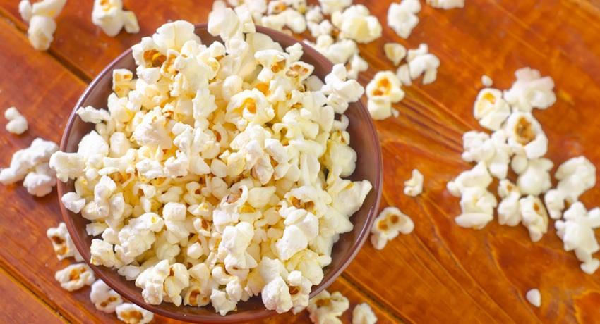 Popcorn image via Shutterstock.