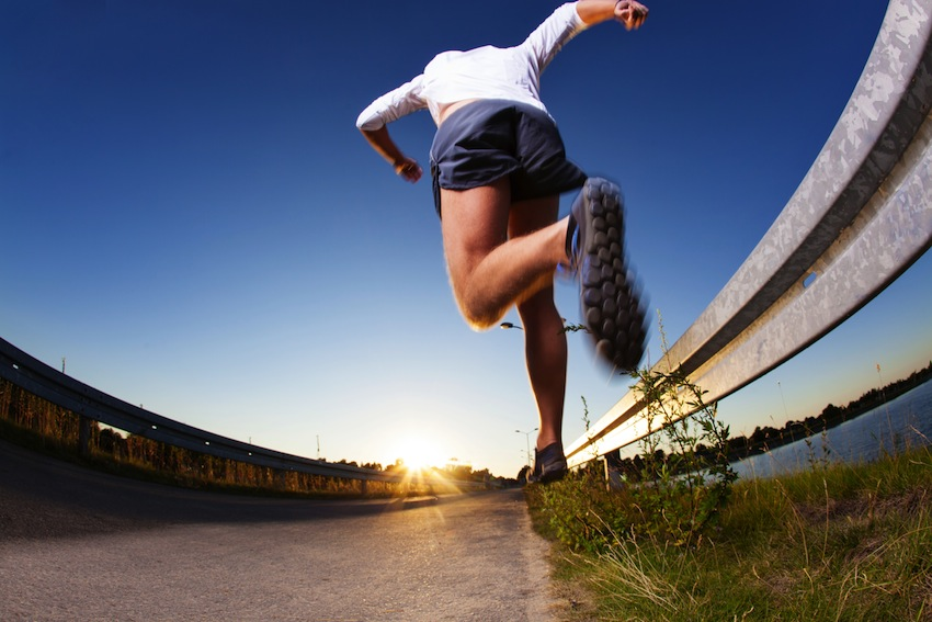 Running image via Shutterstock.