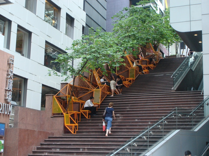 Stair Cascade in Hong Kong/Photo visa BSA
