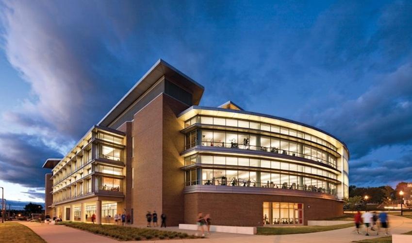 The University of Massachusetts, Amherst Fitness Center. Photo via UMass Amherst Facebook.