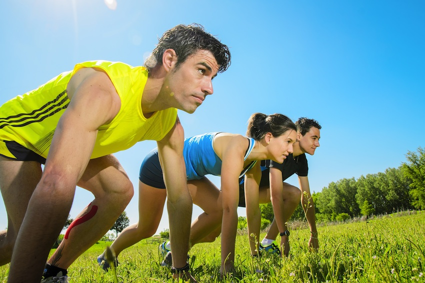 Group Fitness Image via Shutterstock.