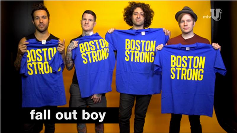 Boston Strong MTVu