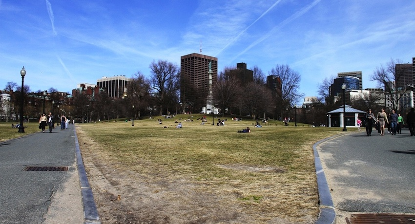 Boston Common Image via flickr/alansheaven.