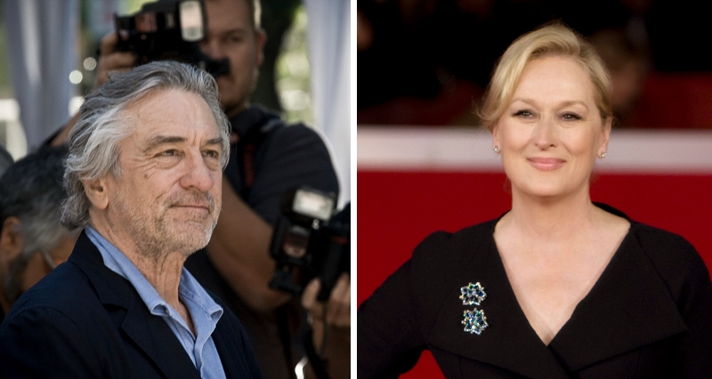 Robert De Niro and Meryl Streep