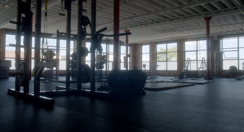 InnerCity Weightlifting interior Screenshot via ESPN