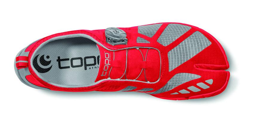 Men's Red Sneaker. Photo via Topo Athletic Flickr.