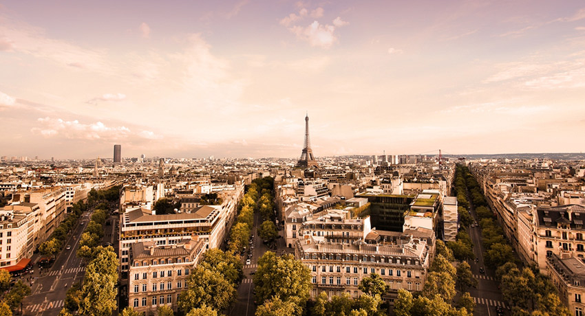 Paris photo via Shutterstock