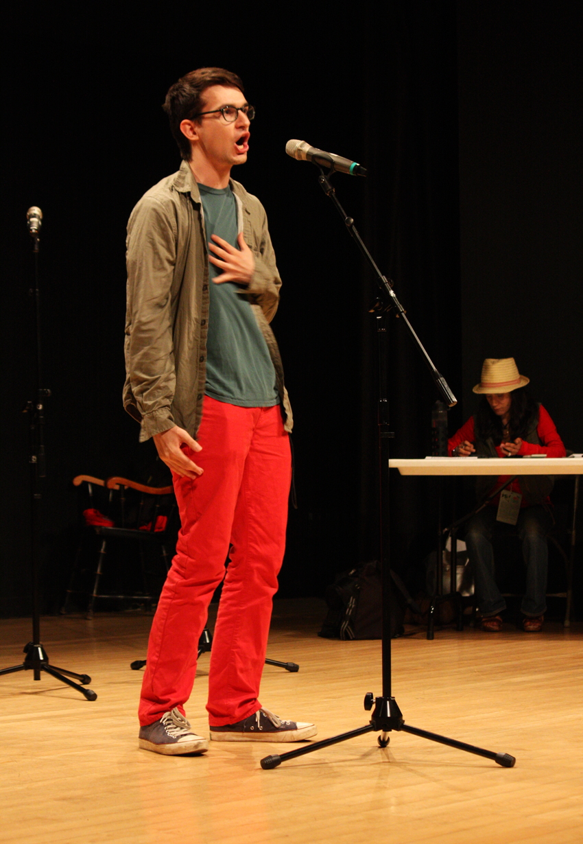 national poetry slam competition 2013