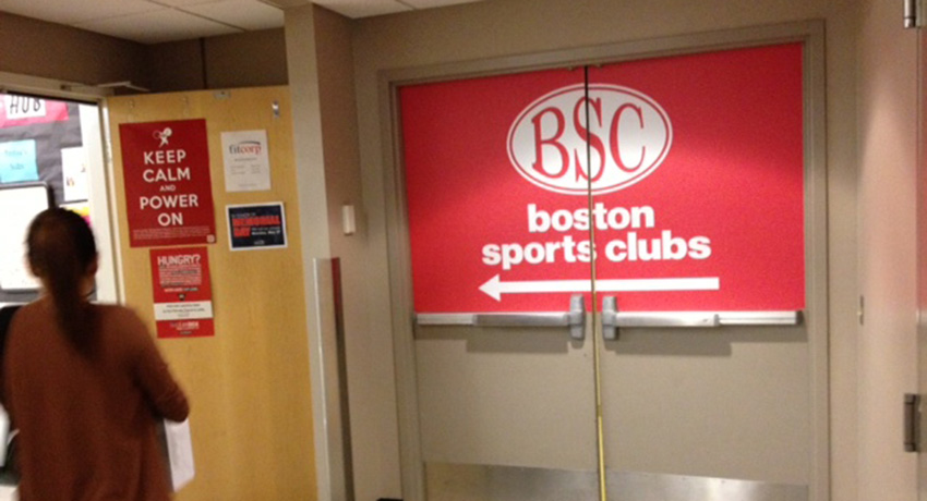 Boston Sports Clubs at the Pru. Image by Kaitlyn Johnston.