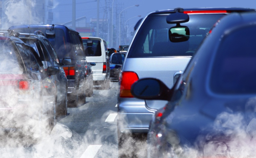 Air pollution image via shutterstock.