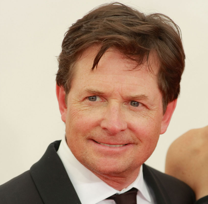 Michael J. Fox at the 2013 Emmy Awards image via shutterstock