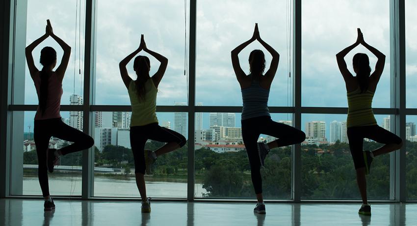 Yoga image via shutterstock