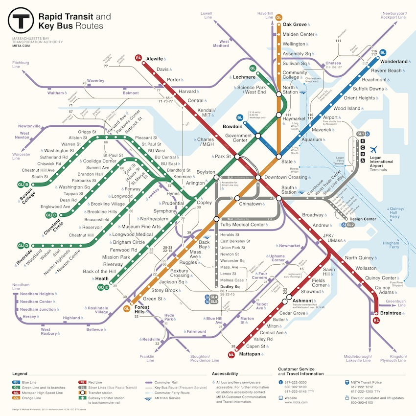 MBTA Announces Winner of Map Redesign Competition – Boston Magazine